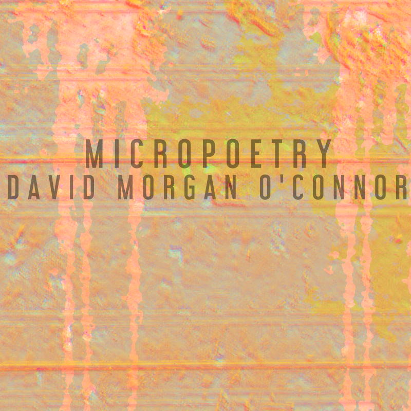 2 micropoems by David Morgan O'Connor | #thesideshow